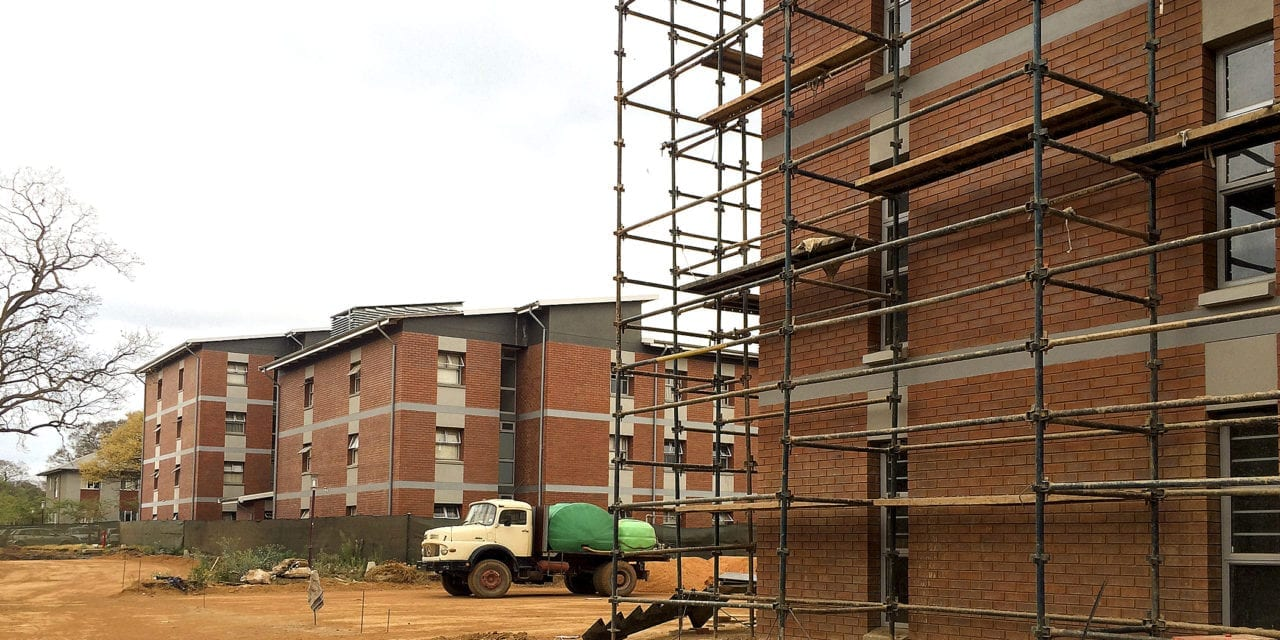 Brick manufacturer keeps campus cool