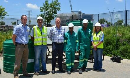 Mpumalanga community receives water treatment