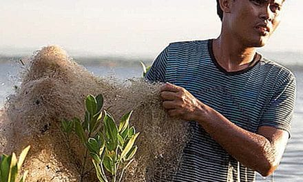Old fishing nets get a new lease on life
