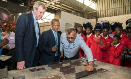 Welding the perfect public private partnership
