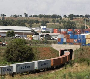 City Deep freight hub gets a million rand makeover
