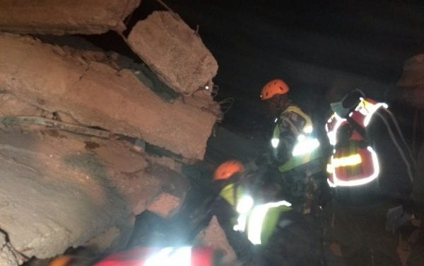 Two die in Nairobi high-rise building collapse