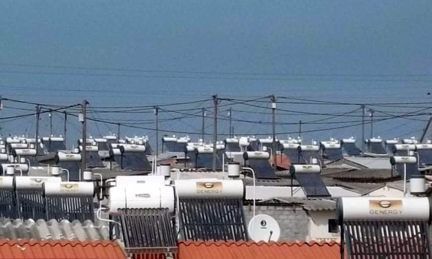 Government's solar water heater programme in hot water