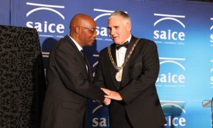 SAICE inaugurates its youngest president ever
