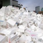 Geotechnical application for expanded polystyrene waste