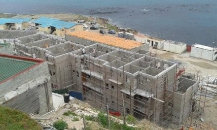 Hangberg construction reaches halfway mark
