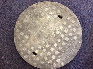 CT replaces metal manhole covers to curb theft