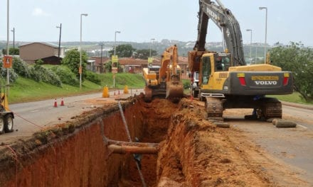 Northern Aqueduct taking shape