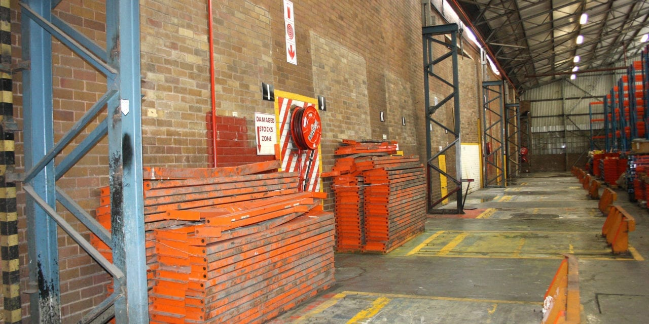 Clay face brick firewall saves warehouse from inferno