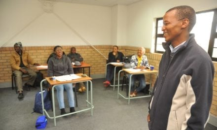 Youth receive building inspector training at Coega