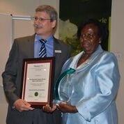 Plastics patron receives special award