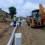 Diepsloot road works