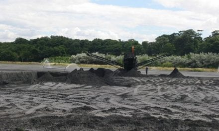Temperature concerns around the landfilling of coal ash waste