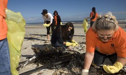 Beverage and botte makers team up for international coastal clean-up action