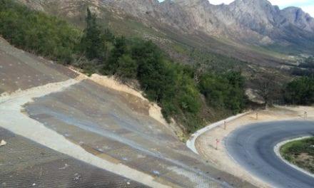 Innovative engineering solution at Franschhoek Pass