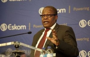 Brian Molefe discusses Eskom's financial results