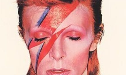 David Bowie left in the nick of time