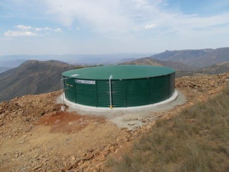 Liquid storage partner in drought relief