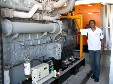 Pipe Manufacturer Invests Heavily In Backup Power Supply