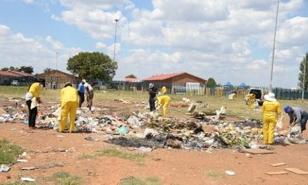 Diepsloot residents take on illegal dumping
