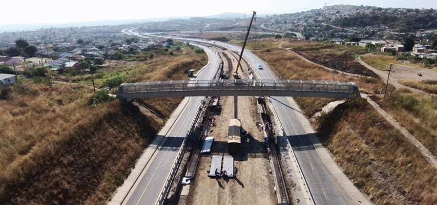GO!Durban construction hits a snag