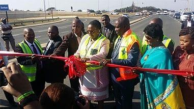 Transport month closes with opening of Libode Interchange Bridge
