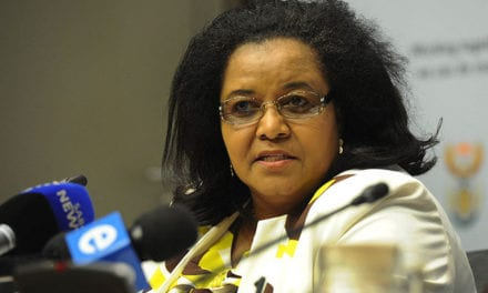 Molewa emphasises climate funding at WEF