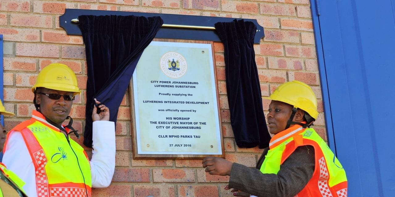 Lufhureng Substation unveiled