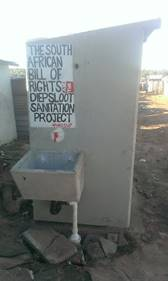Sanitation as a human right – international teams focus on Diepsloot