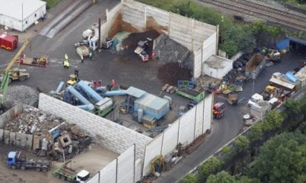 Five die in recycling factory wall collapse: Update