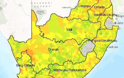 Mapping SA's water risks