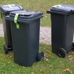 3 Dustbins