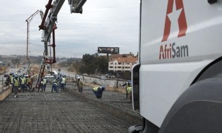 AfriSam's concrete service delivery