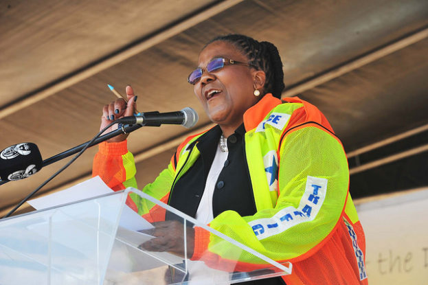 Minister Dipuo Peters launches Transport Month in the North West. (Photo: GCIS)