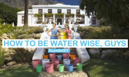 'How to be Water Wise, Guys'