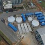 Desalination plant at Hillside Aluminium smelter plant in Richards Bay