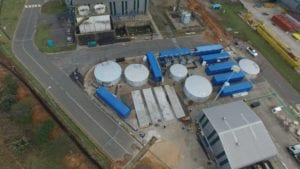 This 2ML/d containerised desalination plant ensure continuous supply for Richards Bay's Hillside Aluminium smelter
