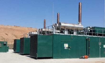 SA's first independent landfill gas-to-power project powers up