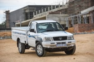 Tata's has has refreshed the design of its one-ton workhorse bakkie. Picture: Supplied.