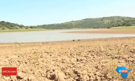 South Africa's dam levels drop yet again