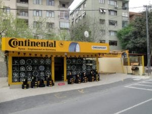A Continental tyres store. Picture: Supplied