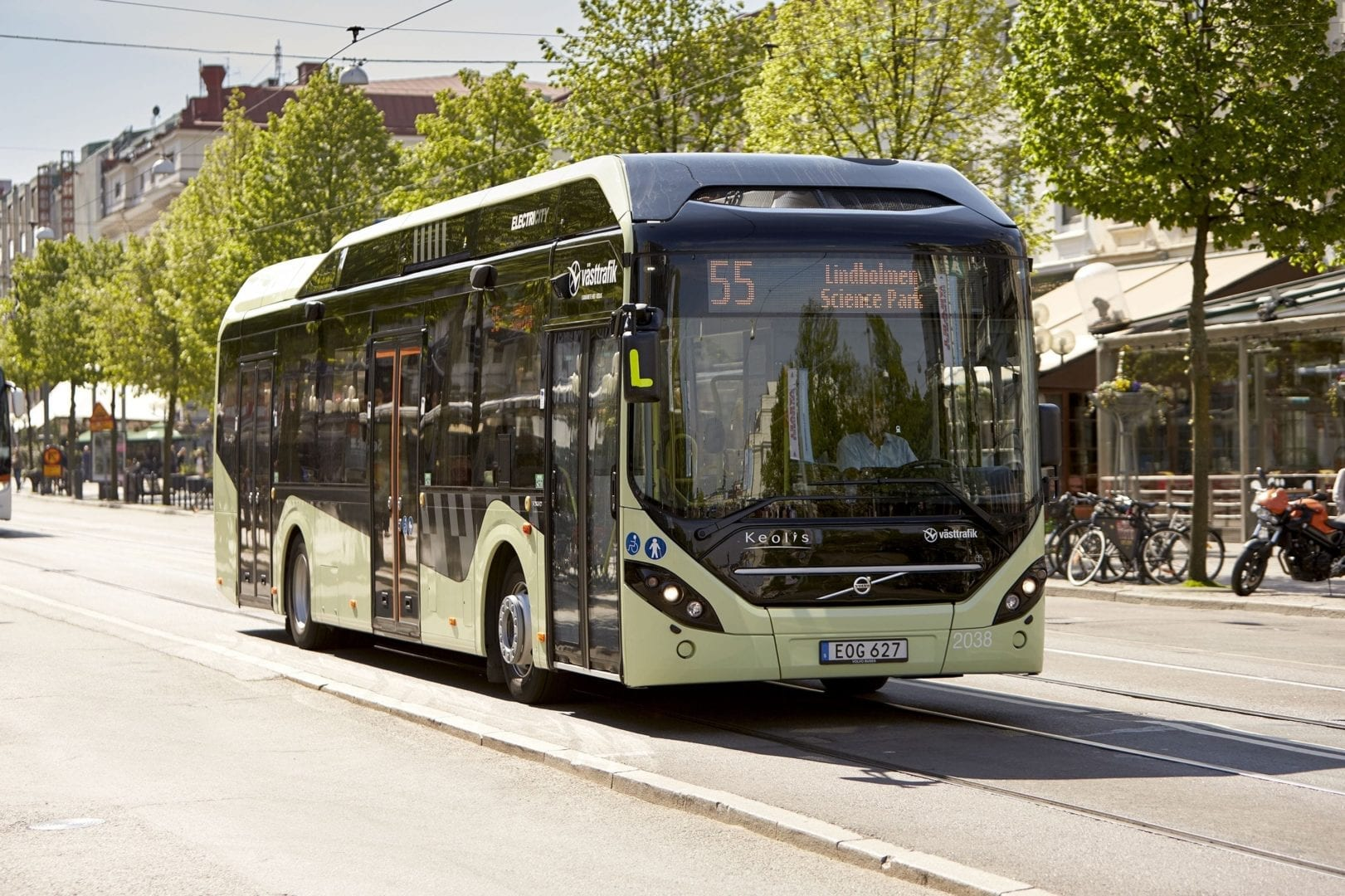 A Volvo Bus. Picture: Supplied.