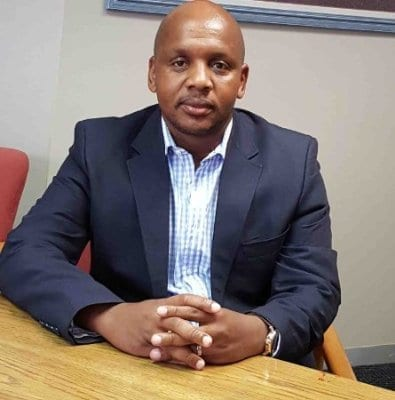 The new Rose Foundation CEO, Bubele Nyiba. Picture: LinkedIn