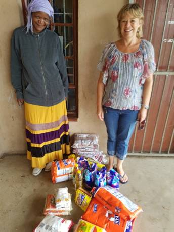 Sue Beningfield (right) from the IWMSA KwaZulu-Natal Branch.