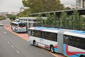 Shining the light on MyCiti bus stops