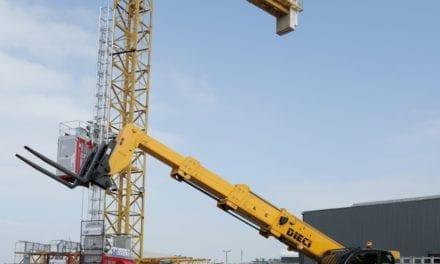 Self-erecting cranes offer big benefits