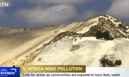 Gold mine exposes some JHB residents to polluted water and toxic dust