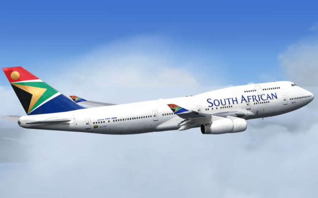 South African Airways plane. Picture: Supplied.