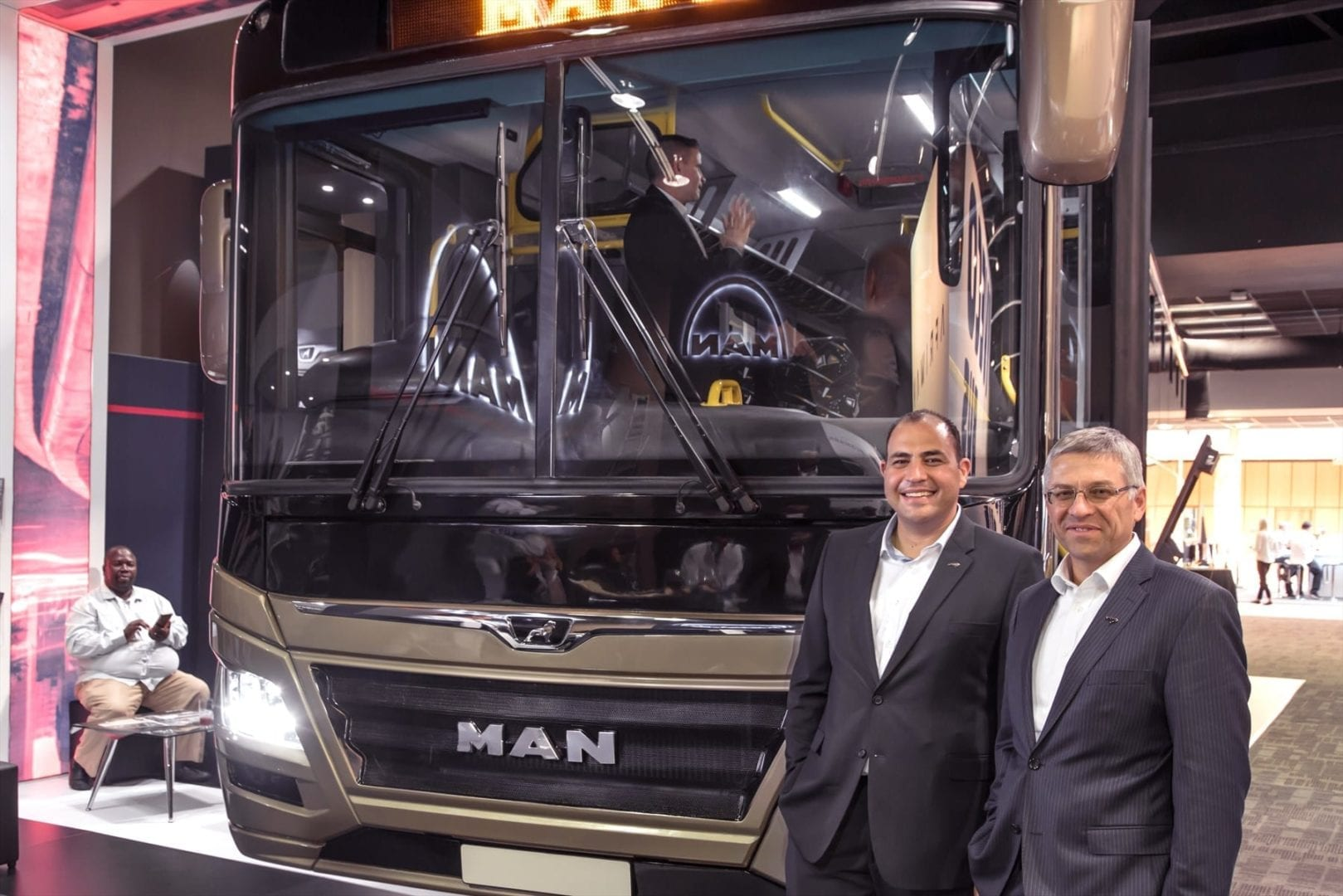 MAN Automotive launched its new commuter bus at this year's SABOA conference.