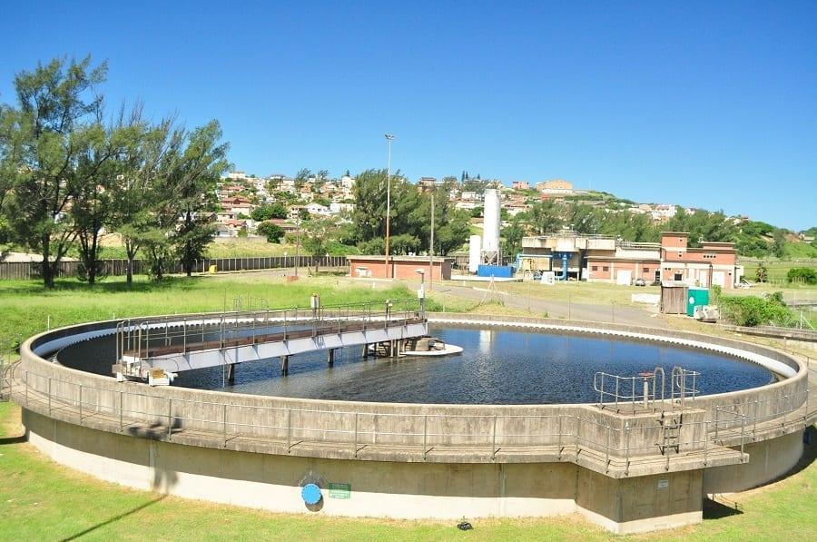 Veolia's wastewater plant.